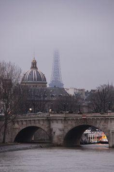 Pont Neuf in fog, Paris   Flickr - Photo Sharing!