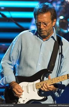 my style musically speaking Eric Clapton