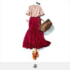 40代のファッション・ファッションコーディネート見本帖 | ファッション誌Marisol(マリソル) ONLINE 40代をもっとキレイに。女っぷり上々! Japan Outfit, Color Mixing, Casual Wear, Outfit Of The Day, Women's Fashion, Street Style, Clothing, How To Wear, Closet