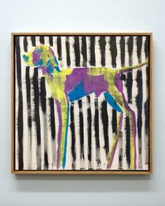 POINTER // Julie Sneed, acrylic on canvas Colorful Artwork, Pointers, Canvas, Frame, Dogs, Tela, Picture Frame, Stylus, Pet Dogs
