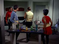 """Star Trek, Mirror, Mirror"""" (season two, episode four)  http://www.startrek.com/watch_episode/_nZxesyGu_Iu"""