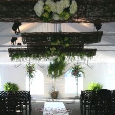 www.facebook.com/itsyourpartyspecialeventflorist My sister's gorgeous wedding isle :)