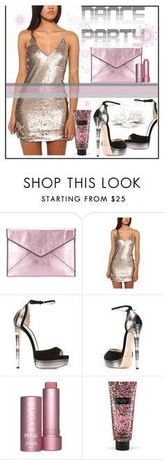 """""""DANCE PARTY"""" by selmir ❤ liked on Polyvore featuring Rebecca Minkoff, Jimmy Choo, Victoria's Secret and danceparty"""