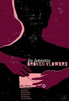 Broken Flowers, Jarmusch, Polish Poster