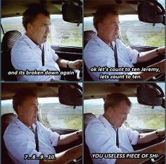 Top Gear - Count to ten Funny Memes, Hilarious, Jokes, Top Gear Bbc, Jeremy Clarkson, The Three Stooges, Tv Land, Grand Tour, Car Humor