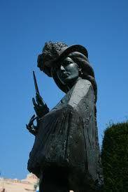 Sissi statue in Geneva