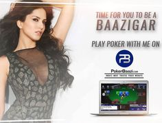 Time to be a Baazigar.  Play with me on @PokerBaazi , India's most trusted poker website.  Get Rs 100 FREE on sign up using my c