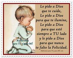 Le pido a Dios