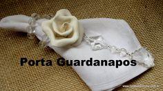Porta Guardanapos - Rosas de Simone