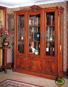 2000.00$  Buy here - http://ailpa.worlditems.win/all/product.php?id=851300031 - Wine cooler Classic wood wine cabinet Double doors
