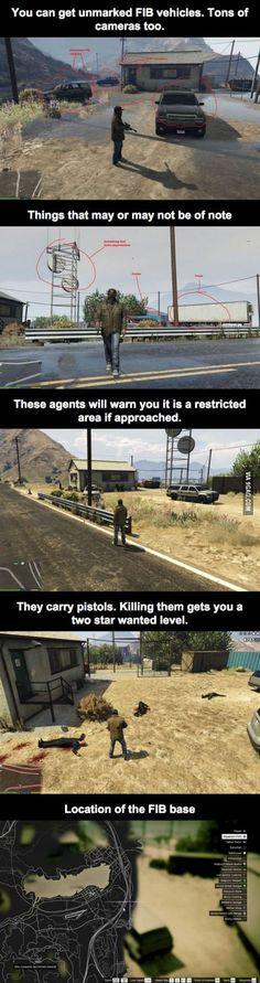 Secret FIB base in GTA V