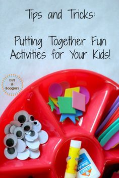 How To Put Together Fun Activities For Your Kids! -