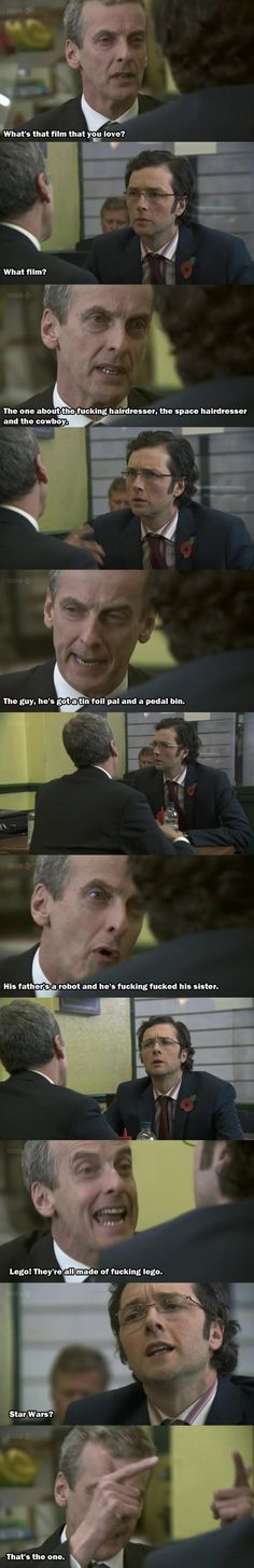 Malcolm Tucker, (The thick of it) Describes Star Wars