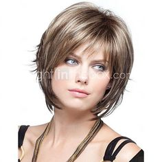 Women  lady  Short  Synthetic  Hair Wigs - CAD $26.40