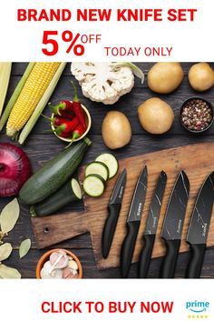 Chef's Ultimate Choice: Sharpze's Premium kitchen Knives set is made of high-quality stainless steel that resists rust and corrosion. Ideal for chopping, slicing, dicing, and mincing all kinds of meat, vegetables, fruits, and bread . . . . . #chefknifeset #knifesetkitchen #paringknife #serratedparingknife #vegetableknife
