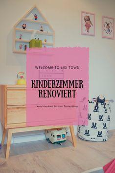Kinderzimmer Renovierung - Hausbett, Tonieshaus & Co. Kids Interior, Home Living, Kidsroom, Toy Chest, Storage Chest, Boy Or Girl, Inspiration, Toys, Furniture