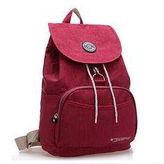 New 2016 Women Backpack Waterproof Nylon 10 Colors Lady Women's Backpacks Female Casual  Travel bag Bags mochila feminina #clothing,#shoes,#jewelry,#women,#men,#hats,#watches,#belts,#fashion,#style