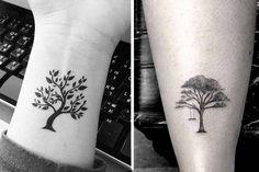 arvores desenho tatto - Pesquisa Google