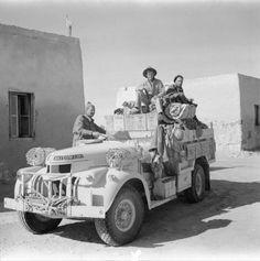 LONG RANGE DESERT GROUP LRDG NORTH AFRICA DURING SECOND WORLD WAR