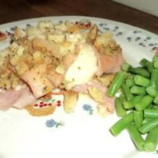 Slow Cooker Chicken Cordon Bleu : 340 cals