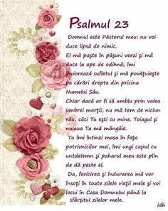 E o mare binecuvantare acest psalm . Jesus Loves You, God Loves Me, Prayer Board, Bible Crafts, Love You, My Love, God Jesus, Jehovah, Beautiful Soul
