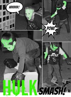 Avenger Party - Hulk Smash Game