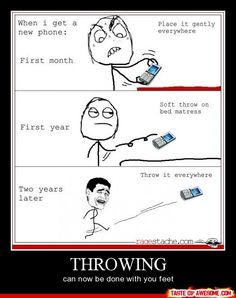 "Hahahaha ""Throwing; can now be done with your feet"" Literally cracking up right now"