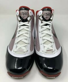 more photos 862ef 27dc2 2009 Nike Lebron 7 Size 11.5 WHITE BLACK VARSITY RED 375674 102  shoes   kicks  fashion