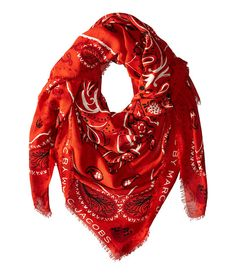 Marc by Marc Jacobs William Paisley Scarf