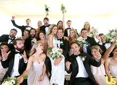 LAUREN CONRAD'S WEDDING PARTY!