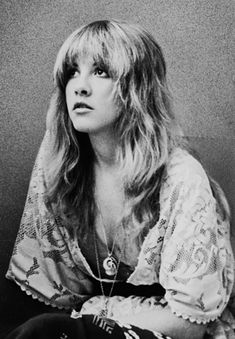 Who Is Your style Icon? I got Stevie Nicks--Leather? Check. Lace? Check? Awesomely embellished, super-romantic everything? Check, check, check. You've got the whole romantic, whimsical, super-flowy earth mama thing on lock.