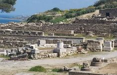 Ancient Kamiros In Rhodes Is One Of The Original Three Ancient Cities (And The Smallest) To Be Developed On The Island. Lindos And Ialyssos Were The Other Two. City O, Rhodes, Greece, Dolores Park, Island, Travel, Greece Country, Viajes, Islands
