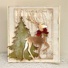 Christmas card today with Sizzix Dies and pattern sheet from Pion Design – Glistening Season. Christmas Cards 2017, Christmas Card Crafts, Christmas Tag, Xmas Cards, Handmade Christmas, Holiday Cards, Christmas Movies, Christmas Vacation, Christmas Design