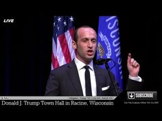 """Stephen Miller Gives Amazing Speech in Racine Wisconsin – """"The Stakes In This Important Election""""… 
