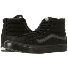 c94040bf30 Vans SK8-Hi Slim ((Metallic Glitter) Silver Pink) Skate Shoes (