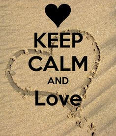 KEEP CALM AND LOVE...   Thank You Vicky <3