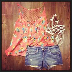 Adorable Summer outfit by Aeropostale! :)
