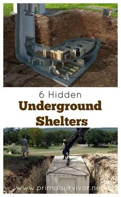 There are a lot of ways to go about creating a hidden underground shelter. Here are 6 examples some examples of hidden underground shelters so you can get ideas for your own secure survival shelter.