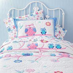 Owl Quilt Bedding | CompanyKids