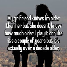 These People Have Been Lying To Their Partners About Their Real Age. See Why