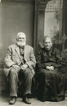Portrait of Elderly Couple by Wisconsin Historical Images, via Flickr