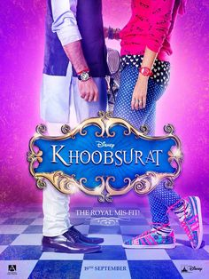 "Sonam Kapoor and Fawad Khan Movie ""Khoobsurat"" New Poster."