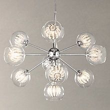 Giovanni bubble 5 cluster ceiling light lighting online john buy john lewis claire beaded sputnik ceiling light online at johnlewis aloadofball Images