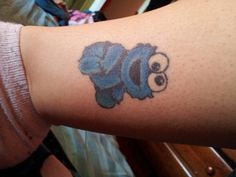 my cookie monster tattoo!