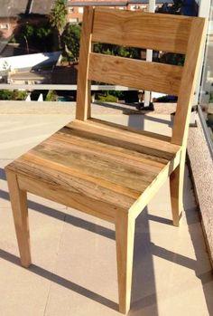 silla en madera de incienso