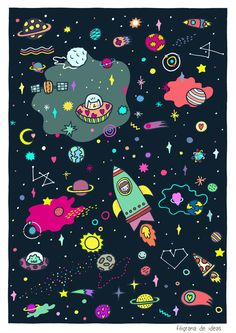 Filigrana de Ideas - Universo Witchy Wallpaper, Look Wallpaper, Pop Art Wallpaper, Trippy Wallpaper, Cute Wallpaper Backgrounds, Pattern Wallpaper, Space Phone Wallpaper, Planets Wallpaper, Flower Phone Wallpaper