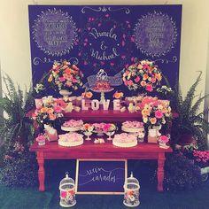 """""""Linda decoração da @themomentfestas  inspiração para casamento  #decorefesta"""""""