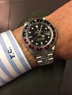 rolex 16710 GMT con bracciale jubile