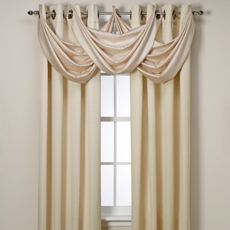 Insola™ Odyssey Insulating Window Panels - Bed Bath & Beyond; color Cafe but don't want valance