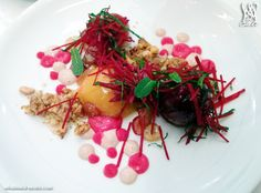 Beet Salad @MasseriaDC Restaurant Dishes, Beet Salad, Beets, Menu, Ethnic Recipes, Food, Menu Board Design, Meals, Yemek